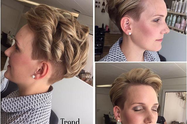 Make Up, Hochzeitsfrisur bei Trend Werkstat Oberegg