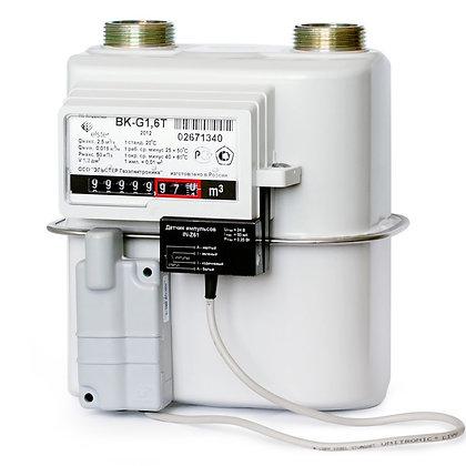 Бытовые диафрагменные счётчики газа ВК-G1,6; ВК-G2,5; ВК-G4; ВК-G1,6T; ВК-G2,5Т