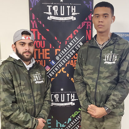 TRUTH - Camouflage Windbreaker (Unisex)