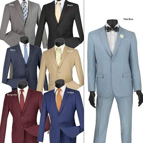2-Pc Slim Fit Suits
