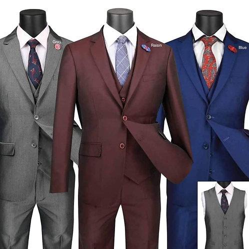 3-Pc Ultra Slim Fit Suits