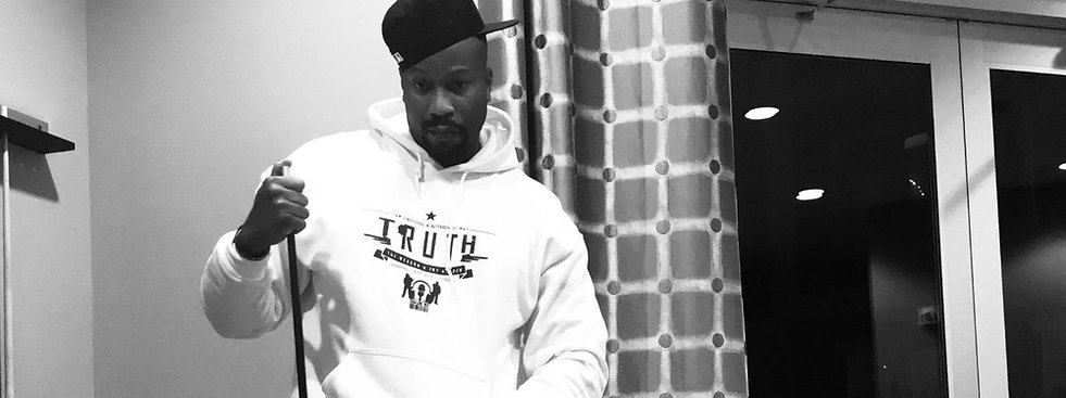 Dr. Samori Swaggert rocking TRUTH Streetwear