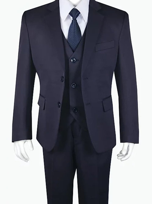 Youth-Sized 3-Piece Suit - Black