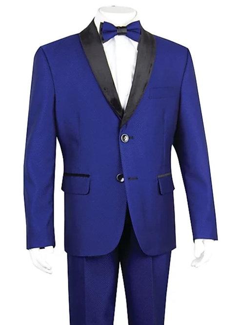 Youth-Sized Tuxedo - Blue