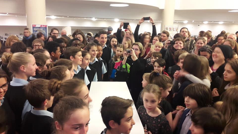 Happy audiences after concert (Photo: Saint Marc Choir)