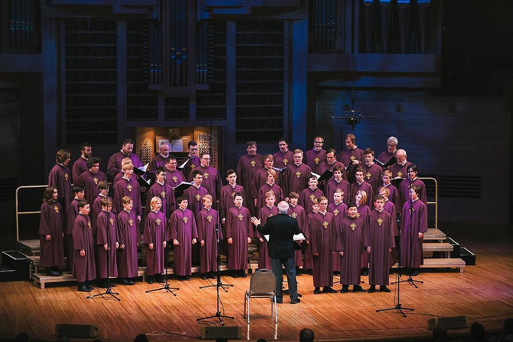 Moscow performance first half (Photo: Nidaros Choir)