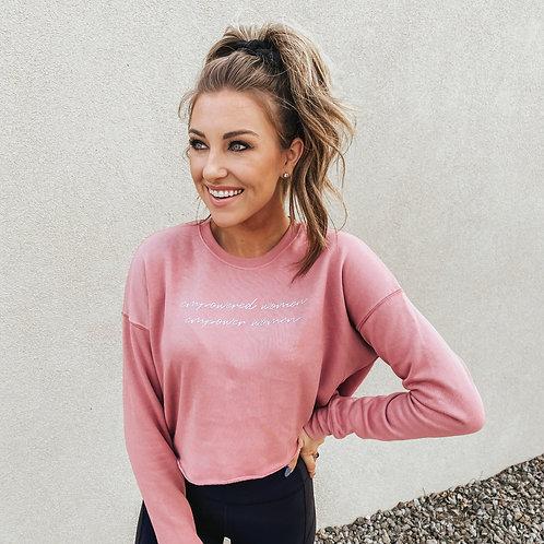 Empower Women Cropped Sweatshirt