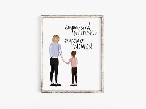 Empowered Women Print