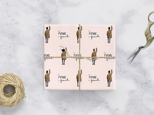 Future is Female Wrapping Paper