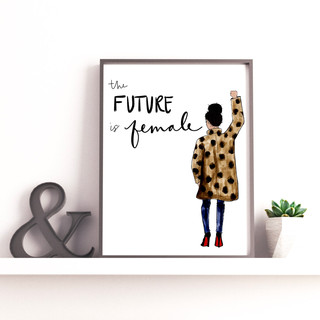 Future is Female Print