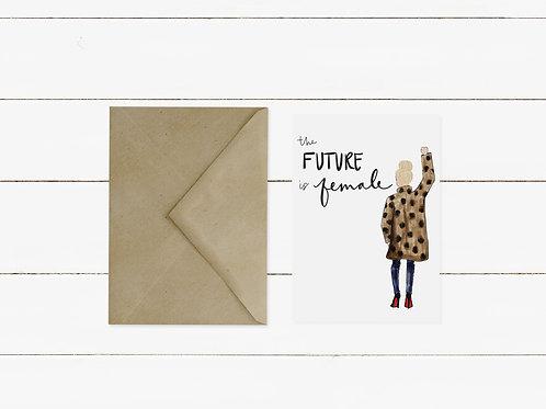 Future Is Female Single Card