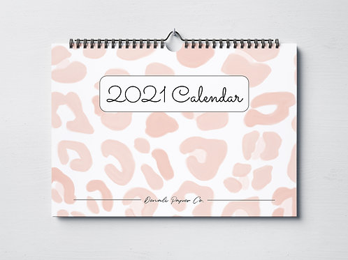 Wall Calendar 2021