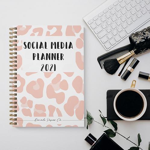 Social Media Planner 2021 Digital Download