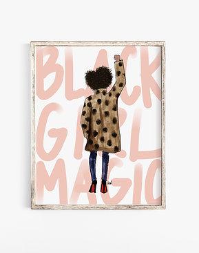 Black Girl Magic Print