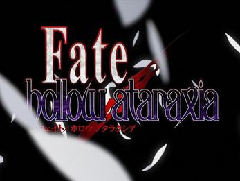 #NEWS - Fate/Hollow Ataraxia vai ganhar Anime