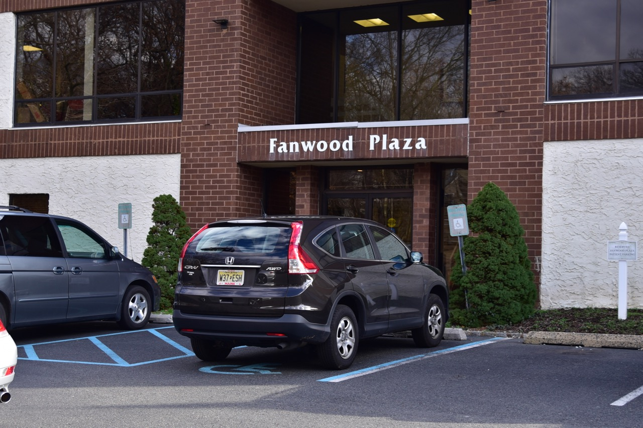 Fanwood Office Back Entrance