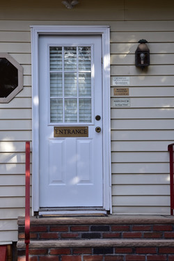 Westfield Office Back Entrance