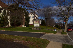 Fanwood Office Driveway Entrance