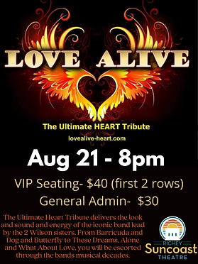 The Ultimate Heart Tribute delivers the