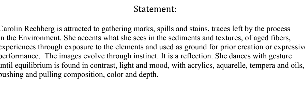 Statement for I.C.A. Publishing