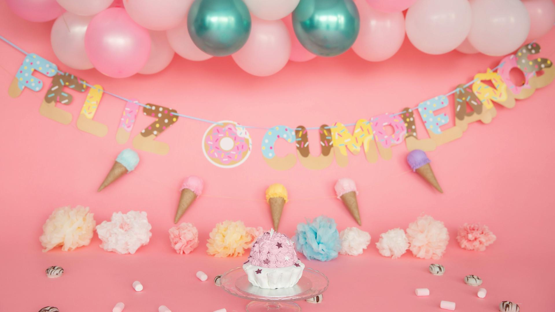 Smash the cake dulces