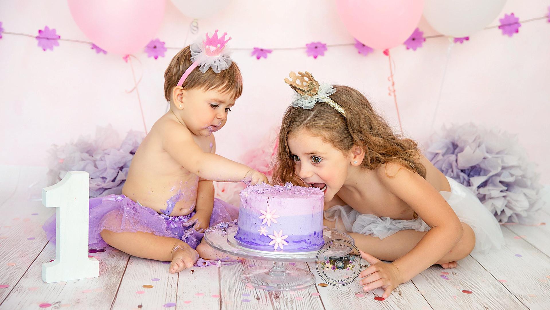 """Smash the cake"" Lila"