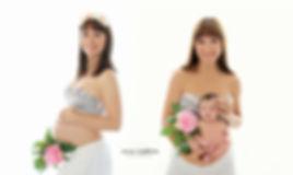 embarazo antes y después