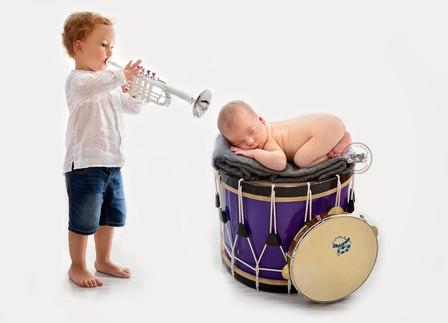 Una familia de músicos muy simpática <3