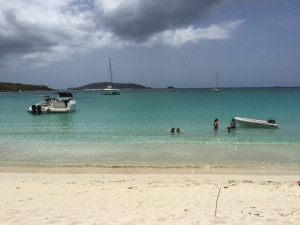 Beach at Culebrita