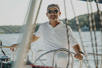 The Owner, Steve Ward, at the Helm
