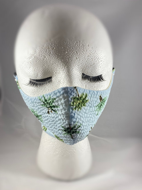 Palm Tree Cotton Face Mask