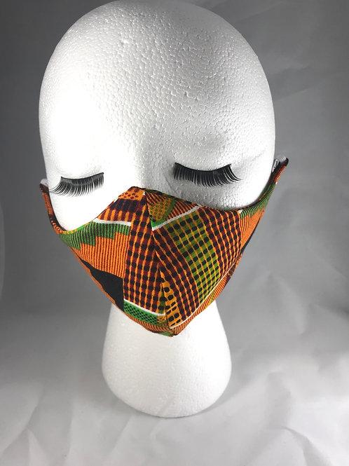 Kente print Cloth Face Mask