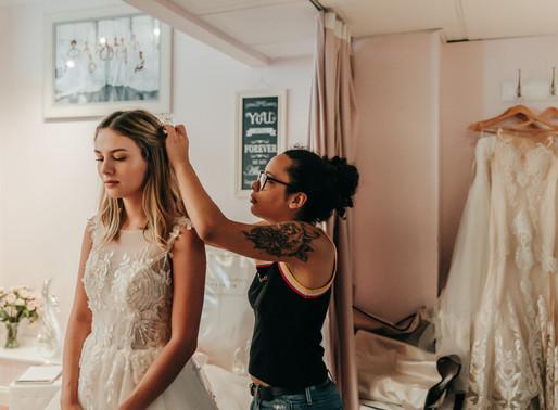 Wedding Dress Shopping in 3 Easy Steps