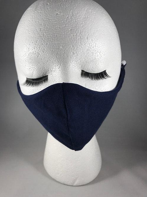 Navy Cloth Face Mask