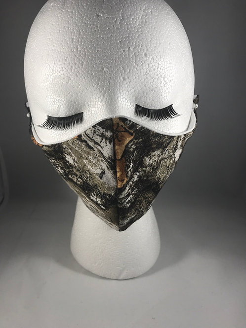 Hunting camo Cloth Face Mask