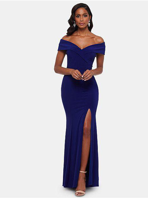 Xscape  Navy Bridesmaid/Evening gown