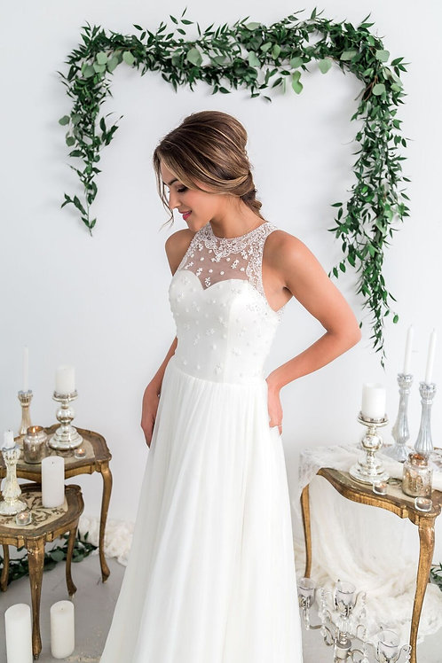 Halter Gown Style F1028