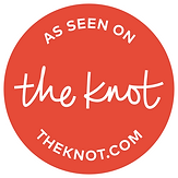 As seen on the Knot.com Badge