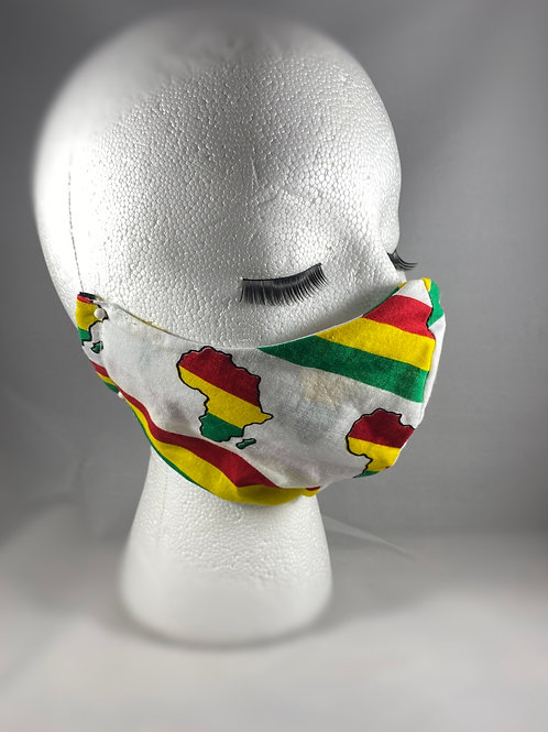 Africa Cotton Face Mask