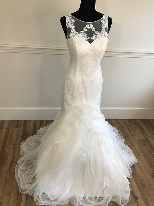 Style F905 - Ruffle Mermaid Gown