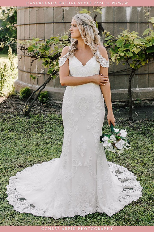 Casablanca Bridal Zola Style 2324