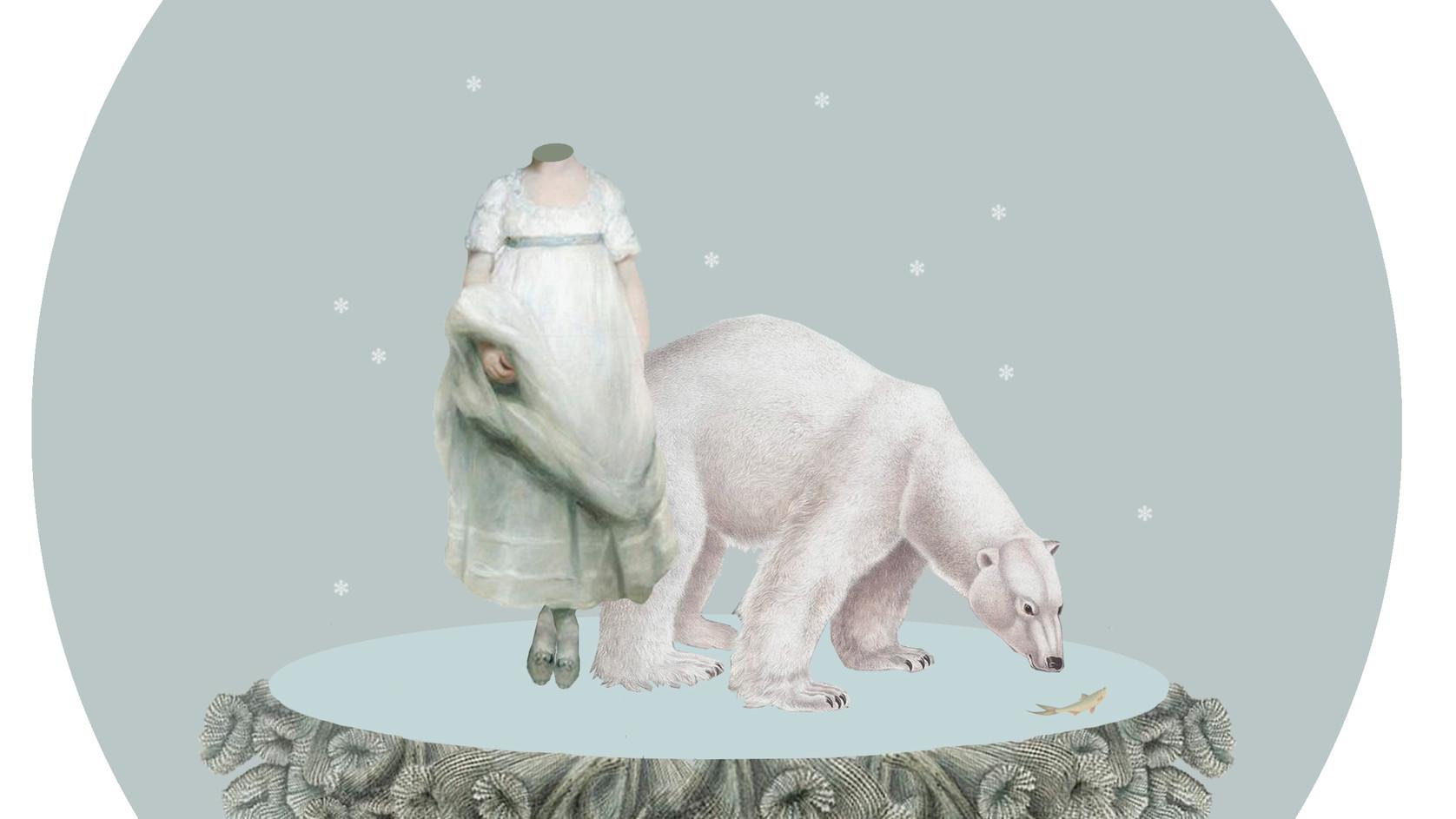 Stillness in frozen time