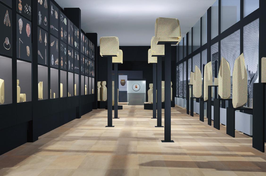 """Tranche de musée """"archéo nationale"""""""