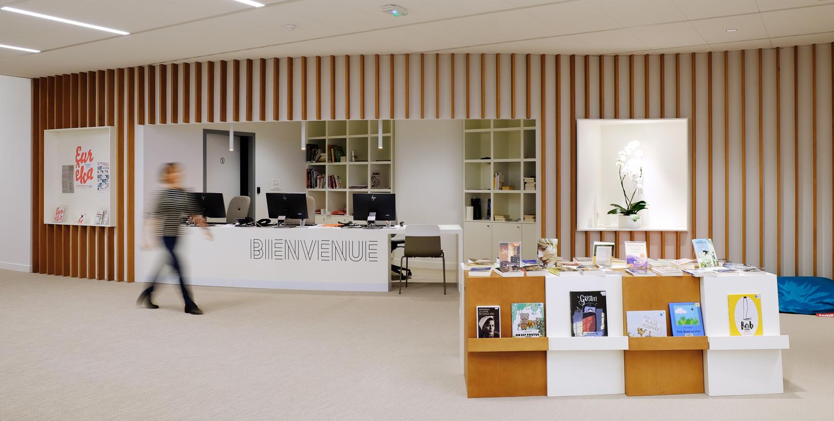 accueil bibliothèque