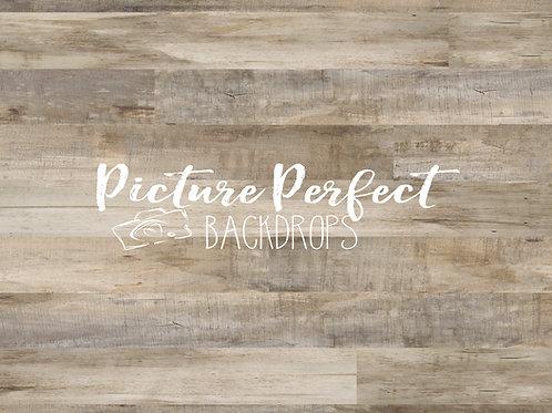 Perfect Cream Wood - Floor Mat 5x7