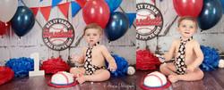 Baseball Cake Smash