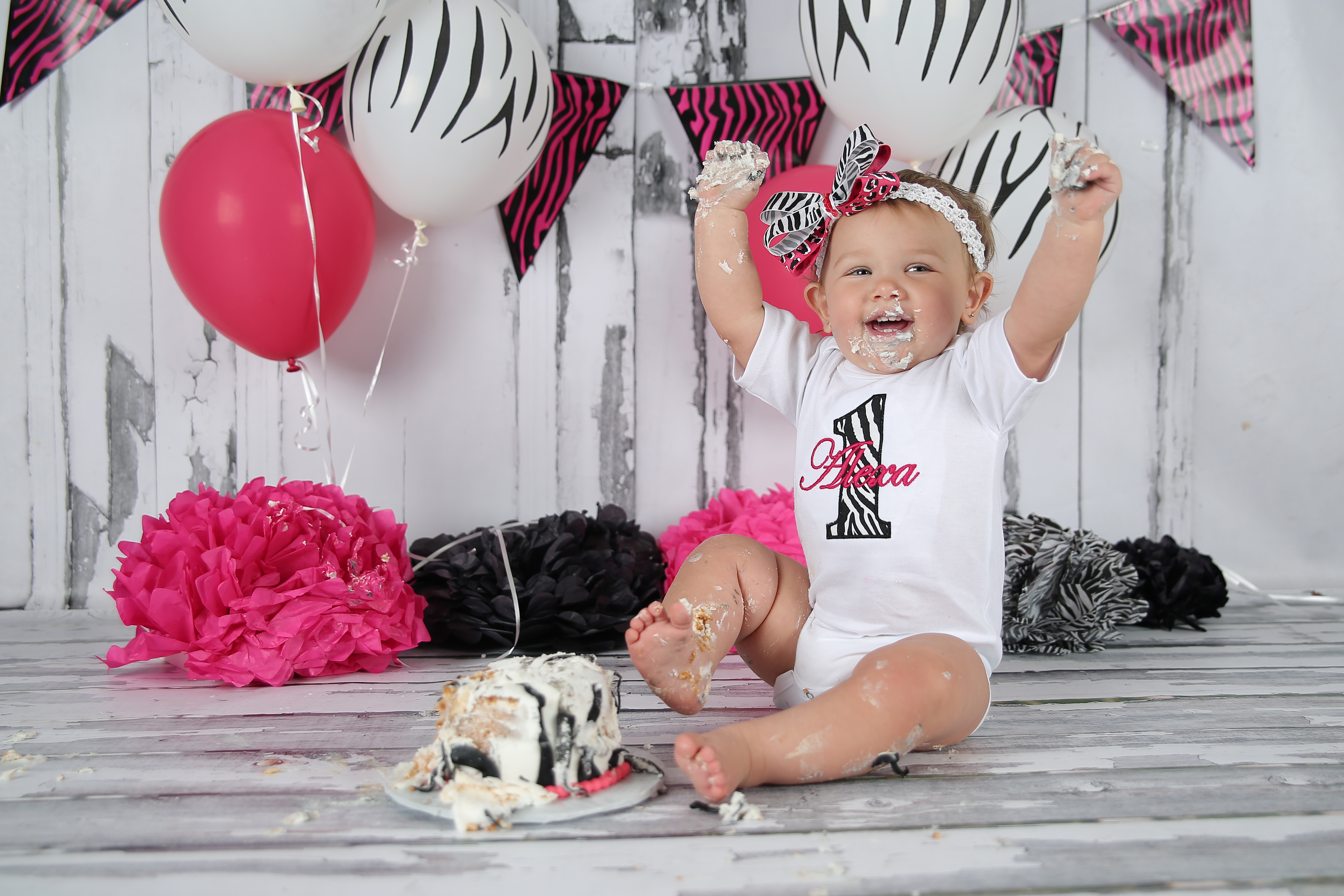 South Jersey Photographer Cake Smash
