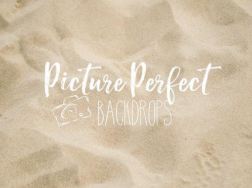 Beach Sand 60x80 Fleece backdrop