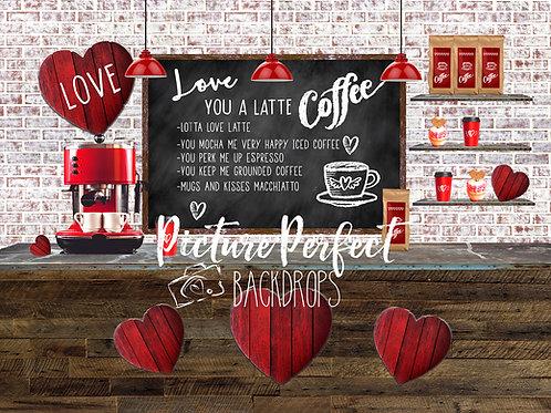 Latte Love-60x80 fleece