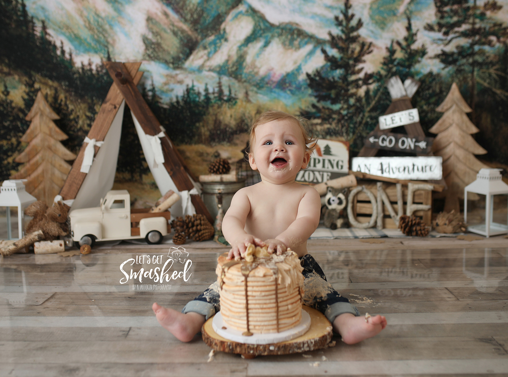 South Jersey Cake Smash photographer
